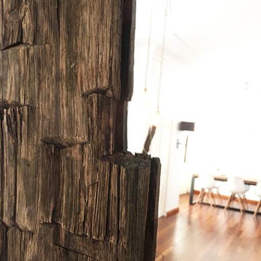 Specchio houten staande spiegel thomaswood for Houten spiegel