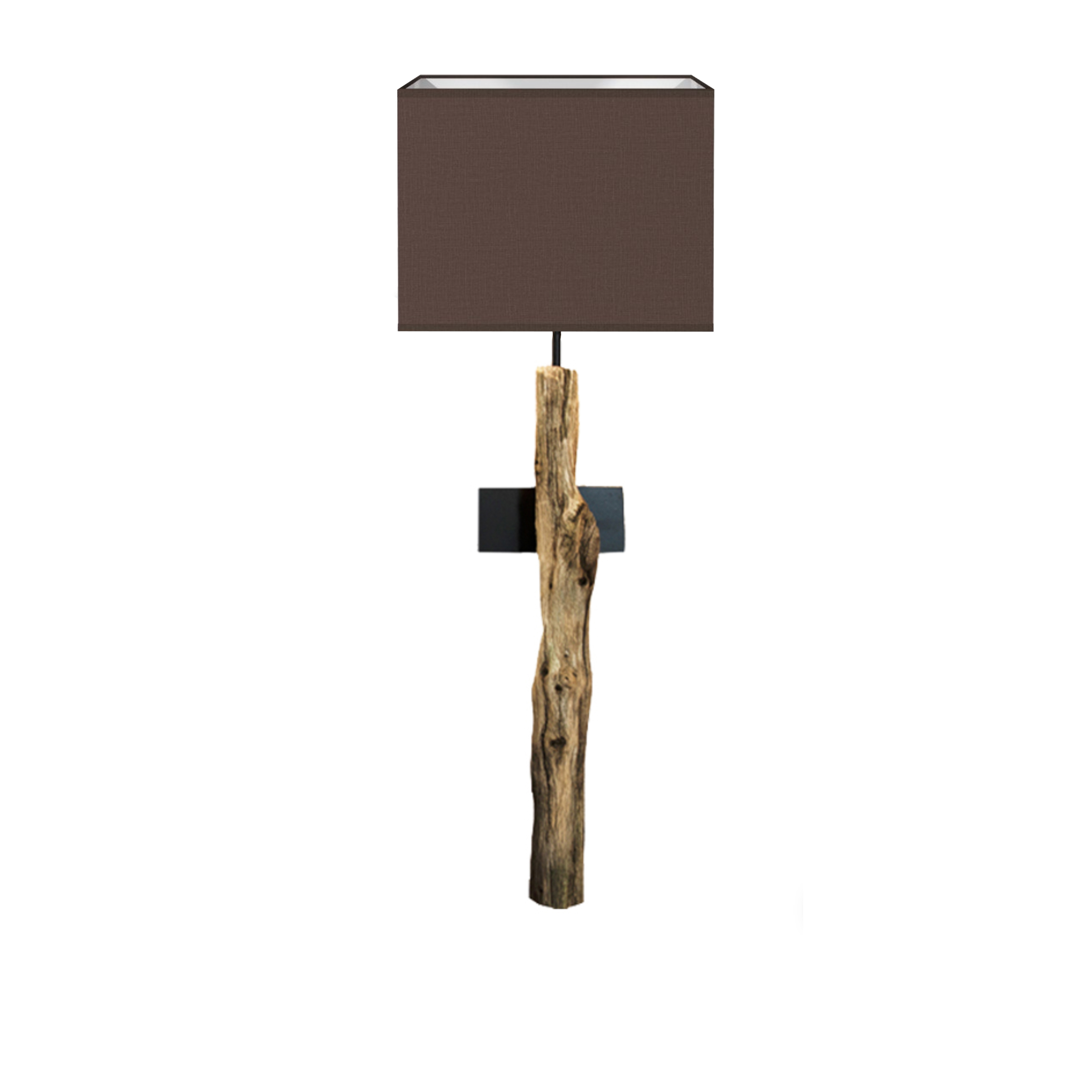 Zeer Devonta | houten boomstronk | Wandlamp - ThomasWood #NJ01