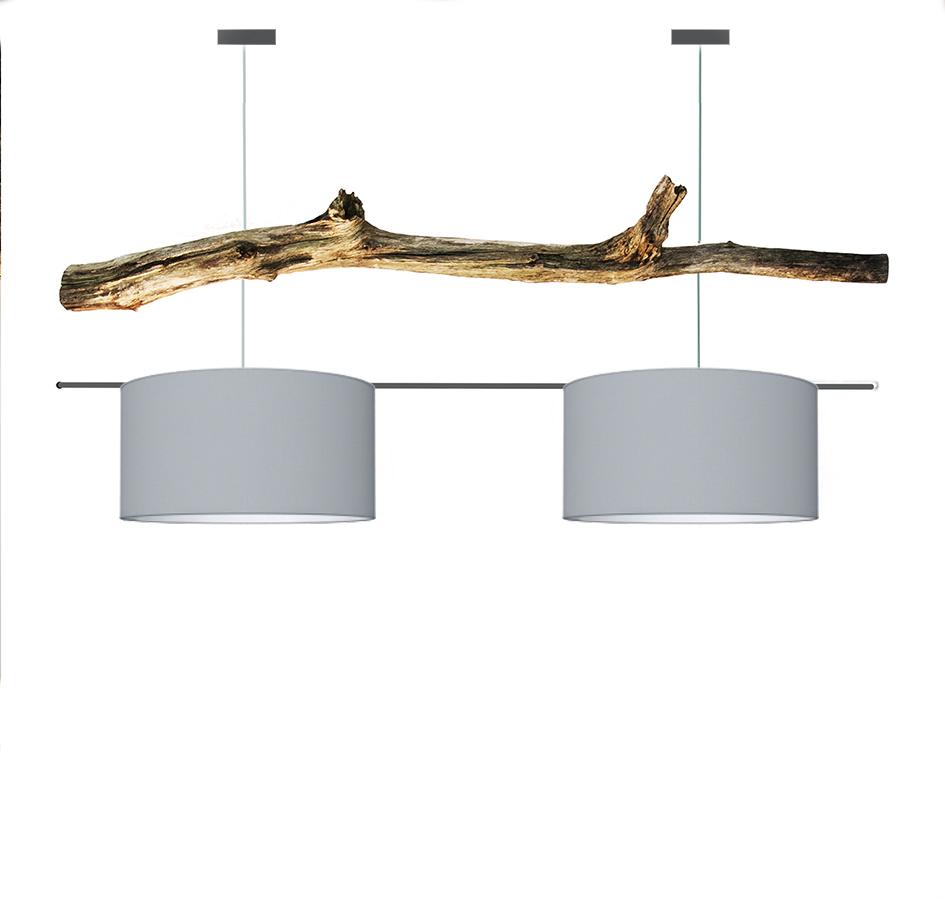 Verbazingwekkend Devonta | houten boomstronk | Hanglamp - ThomasWood ML-85