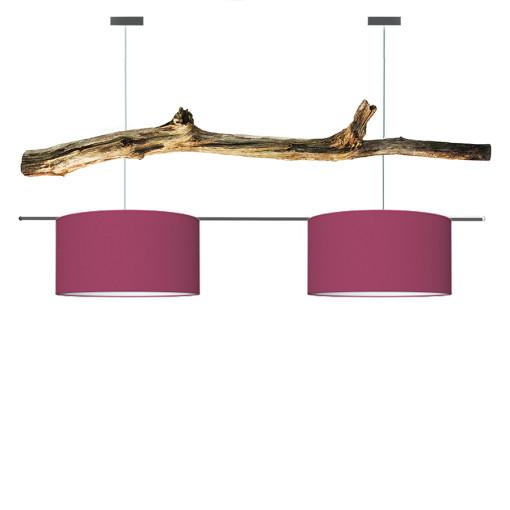 houten hanglamp rose
