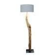 houten vloerlamp licht grijs