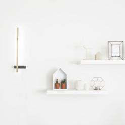 wandlamp minimalistisch en industrieel