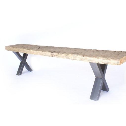 bank hout metaal